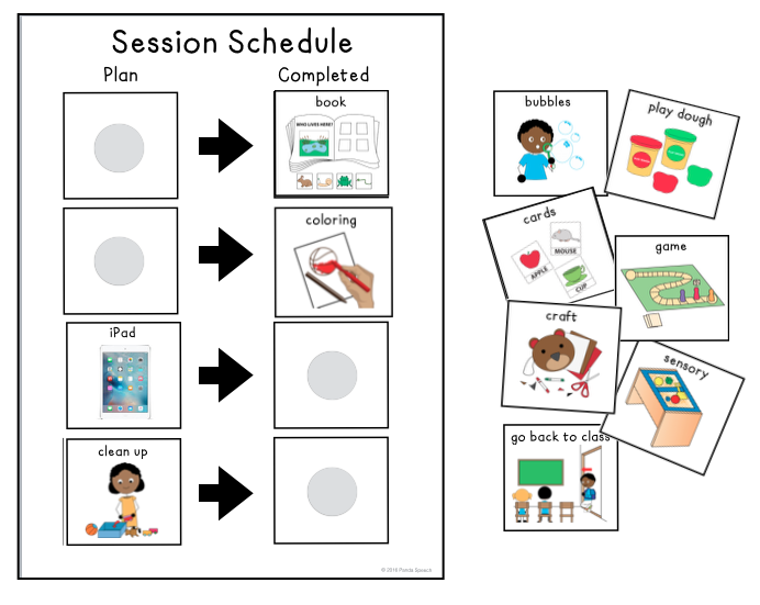 3 reasons i use visual session schedules in speech  u0026 more