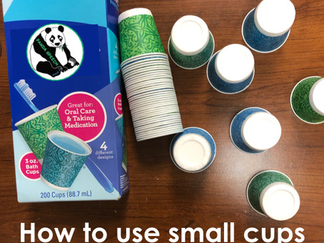 How to Use Small Paper Cups in Speech Therapy