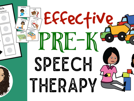 4 Steps to Effective Pre-K Speech Therapy