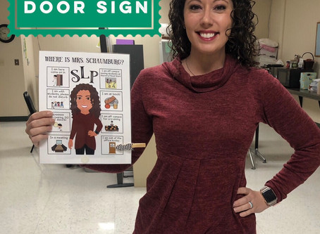 How to make an SLP Bitmoji Door Sign