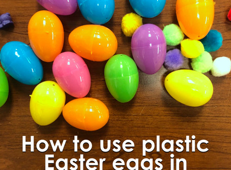 How to use Easter Eggs in Speech Therapy