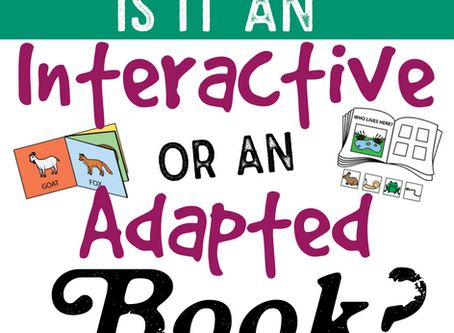 "Is it an ""Adapted"" Book or an ""Interactive"" Book?"