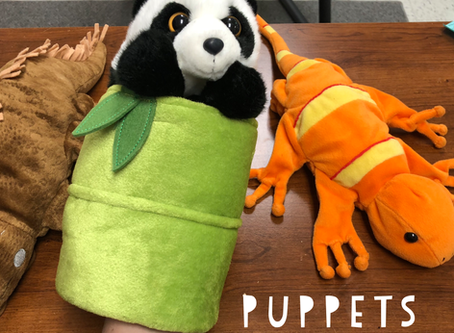 Puppets in Speech and Language Therapy