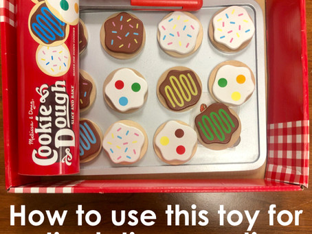 How to Use the Wooden Cookie Toy in Speech Therapy