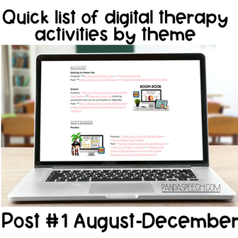 Digital Speech Therapy by Themes