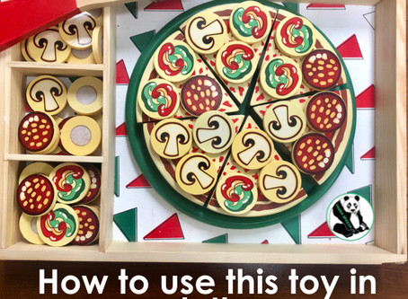 Tips for Using a Pizza Toy in Speech Therapy