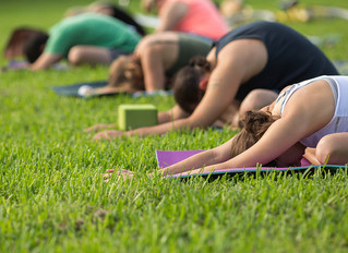 Yoga in the Park is back for July!