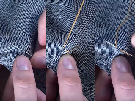 How to Sew a Blazer Button on
