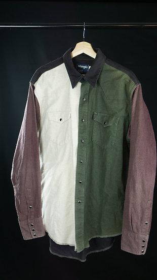Vintage Wrangler Color Blocked Shirt