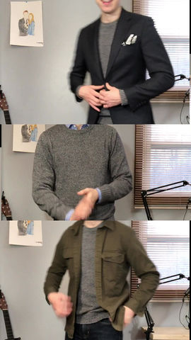 3 Ways to Wear a Sweater