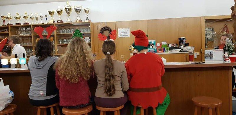 """Vánoční """"besídka"""" žactva"""
