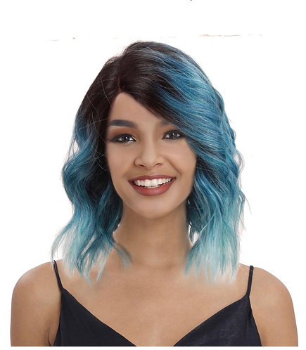 Kylie Synthetic Lace Front Parting Wig