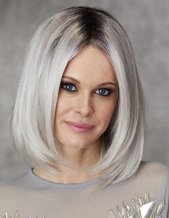 grey wig. modaps wig