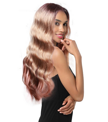 Cynthia Human Hair Lace Parting Wig