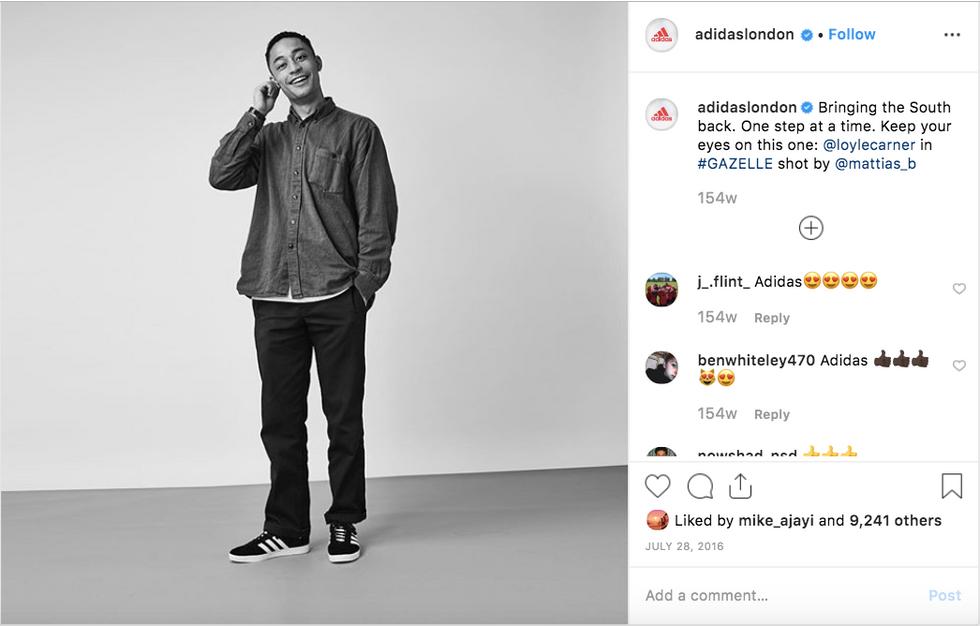 adidas Originals Social Channel