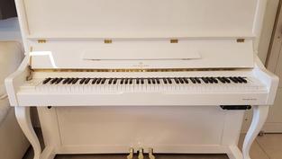 פסנתר חדש לבן סיילנט ERNST KRAUSE
