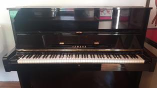פסנתר Yamaha מדגם U-1 שחור