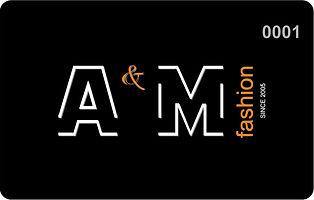 Дисконт мультибрендовой одежды A&M Fashion в Ростове на Дону. Известные бренды, скидко от 50% Пластиковая карта