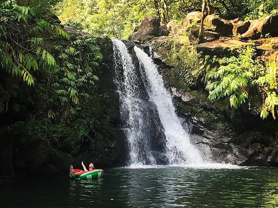 Waterfall, Road to Hana, Maui