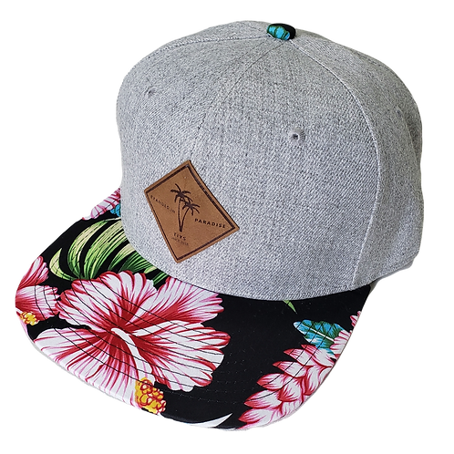 Branded in Paradise Floral Flatbill