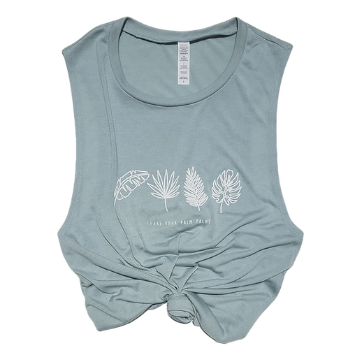 Shake Your Palm Palms Muscle Tank
