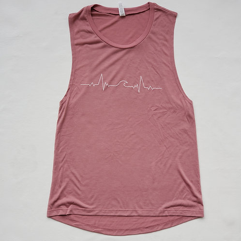 Live for the Wave Muscle Tank
