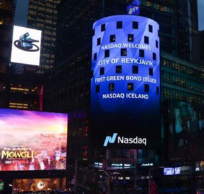 "Case Study: ""First green bond issuer"" - Nasdaq Iceland, in New York"