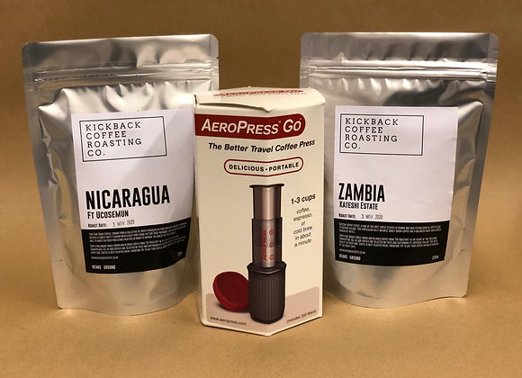 Aeropress + Coffee Combo