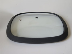 Square Lid with Silicon