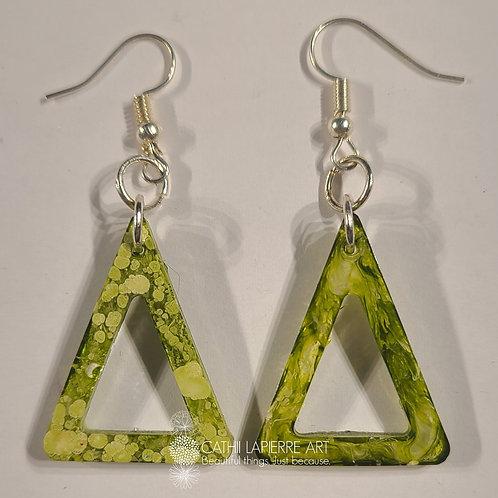 Citrus Triangle Earrings