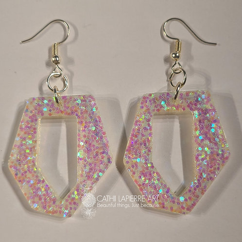 Abstract Unicorn Earrings