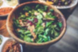 Baby Spinat Salat mit Granatapfel