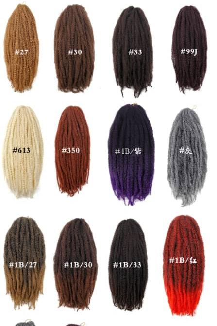 Marley Afro Kinky Hair