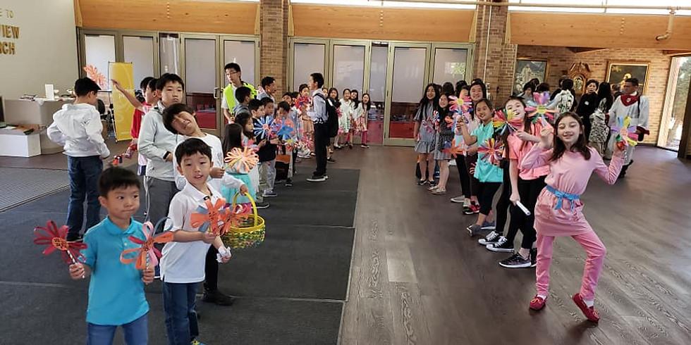 Kidsland Teacher's Worship Service