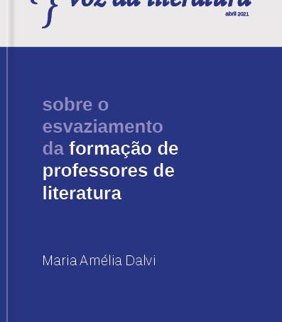 Sobre o esvaziamento da formação de professores de literatura