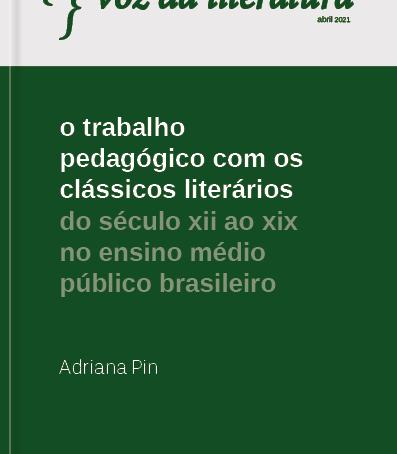 O trabalho pedagógico com os clássicos literários no Ensino Médio público brasileiro