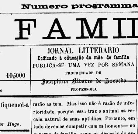 Mulheres de Letras, Brasil Século XIX