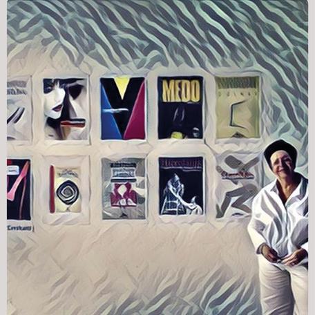 Moema Cavalcanti: capista de livros