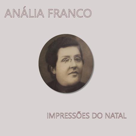 """Anália Franco: """"Impressões do Natal"""""""