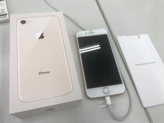 iPhone8一括0円で購入(MNPで)