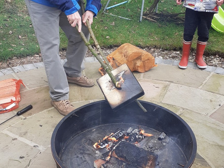 Charcoal Burning - a topic based homeschool lesson.