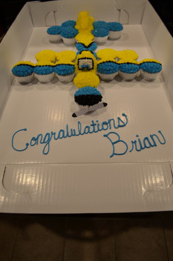 Airplane CC Cake