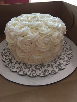 Wedding Rosettes Cake 2