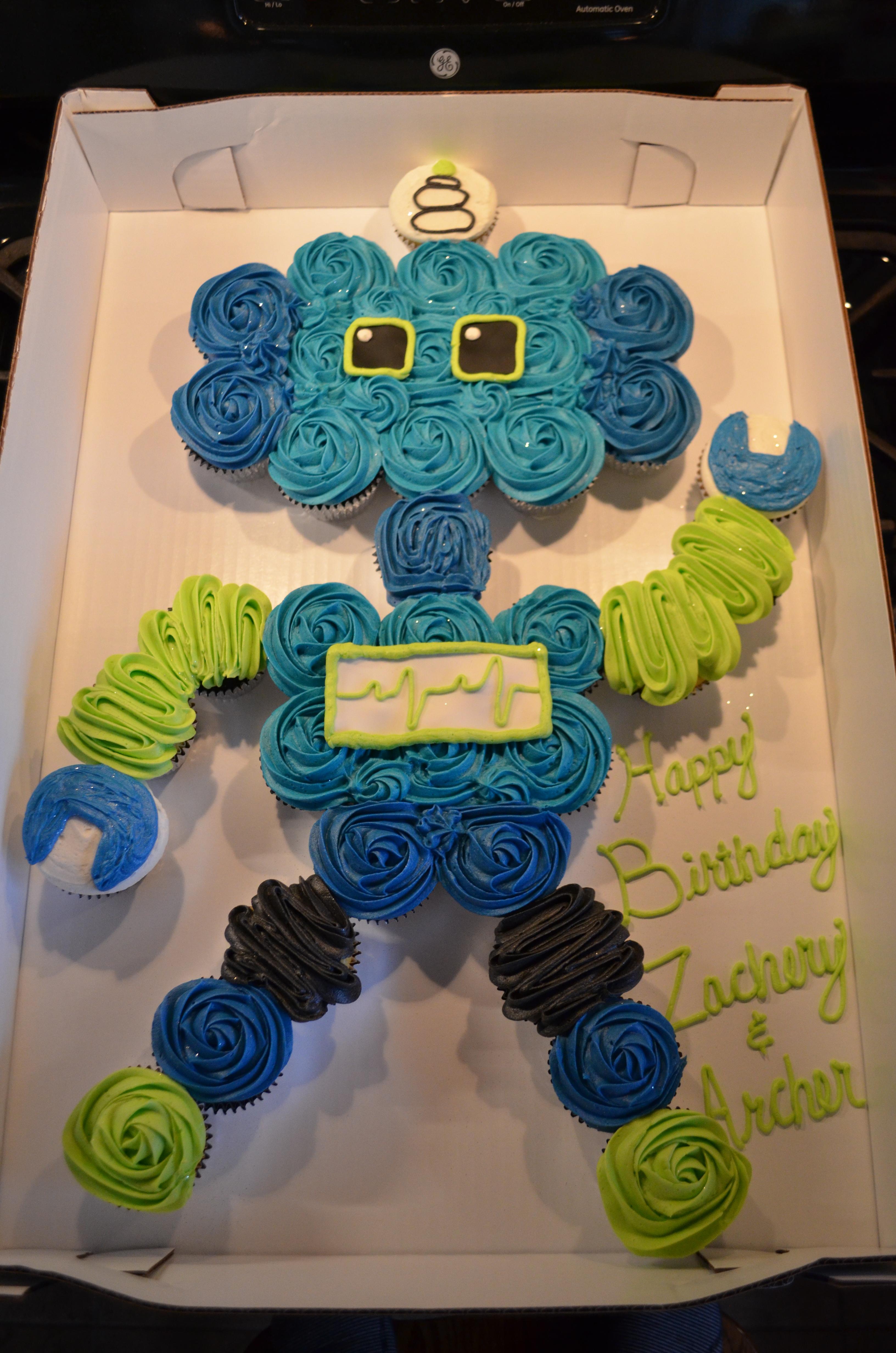 Robot CC Cake