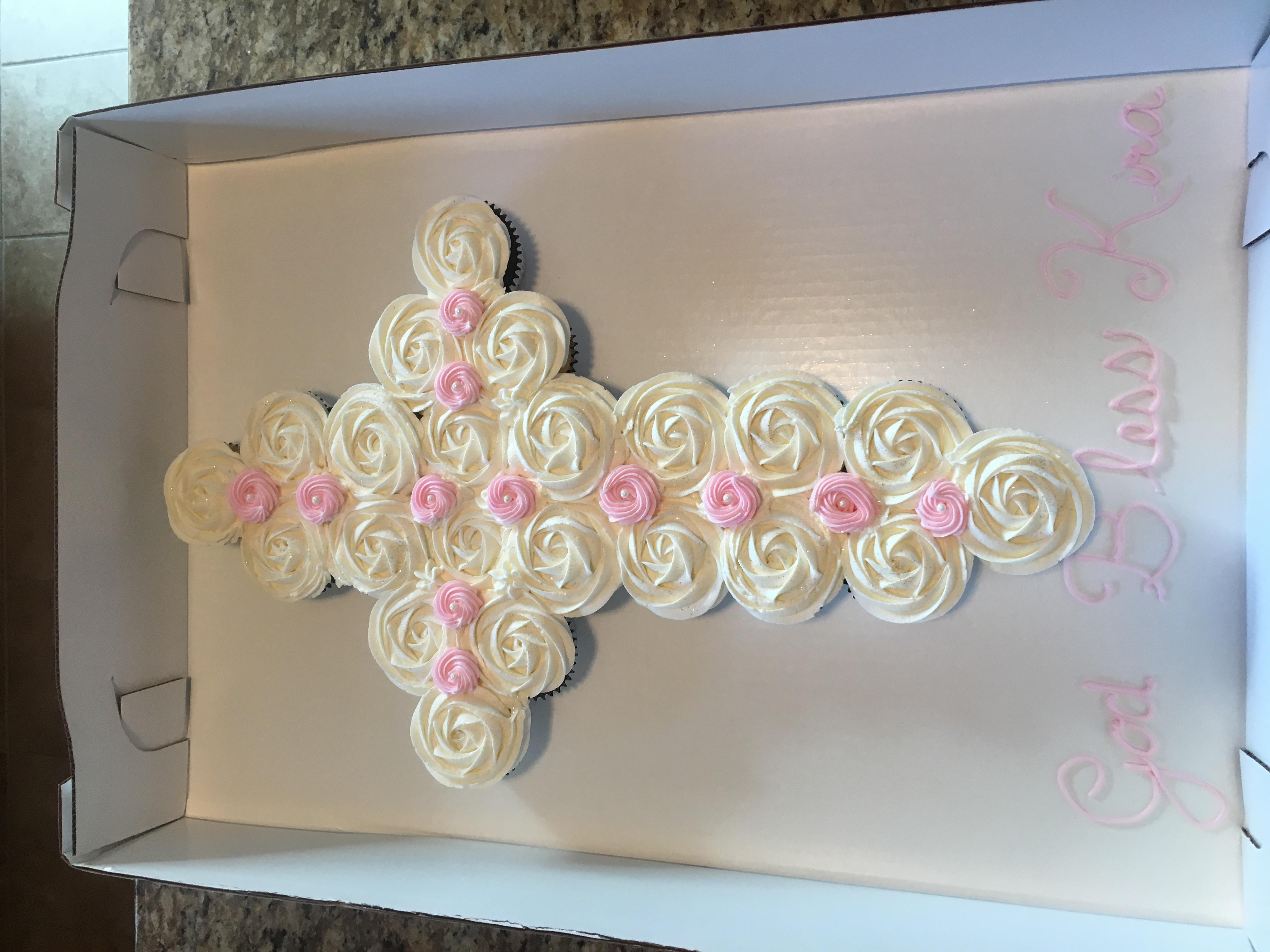 Cross (Pink/White)