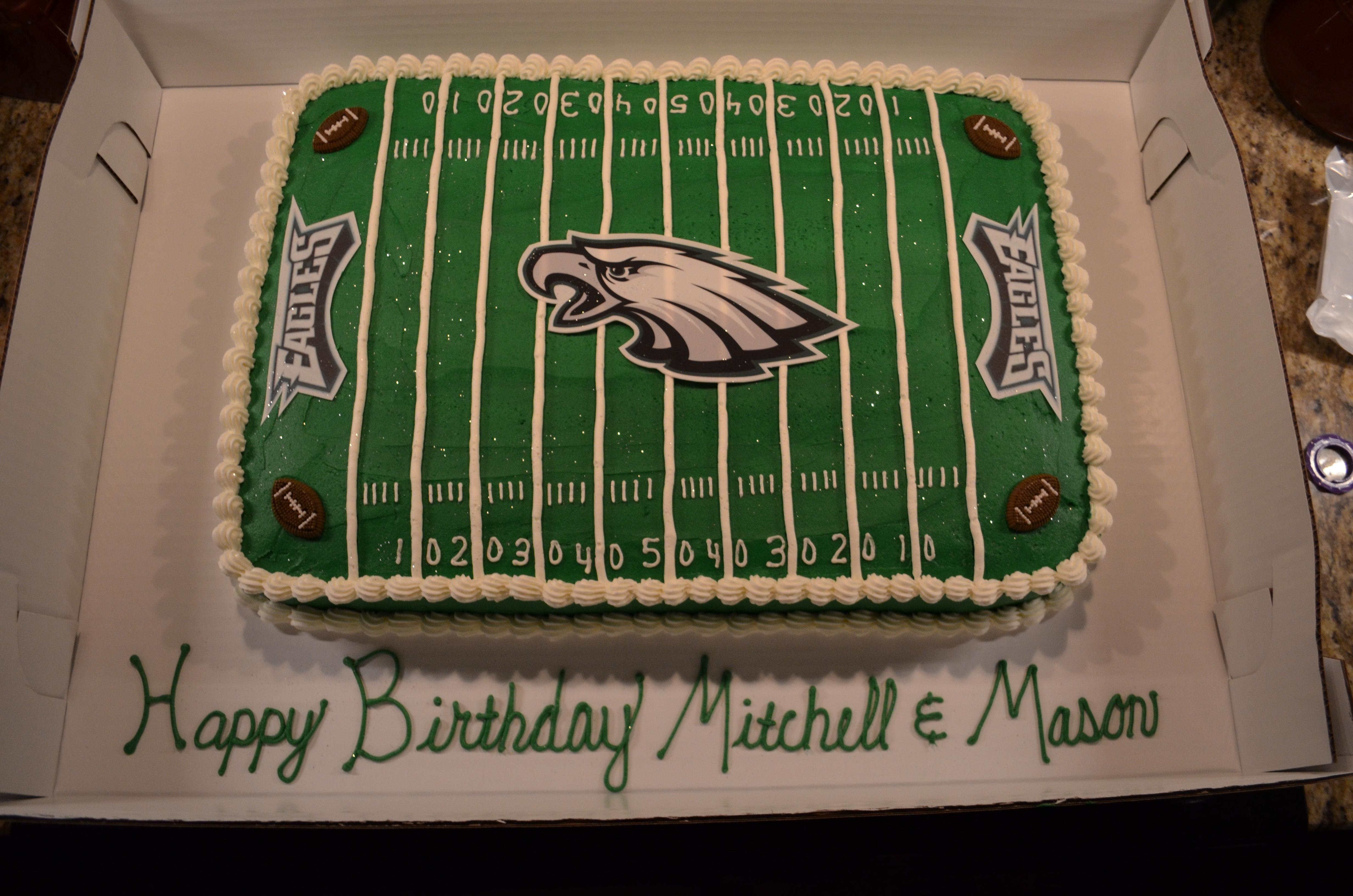 Eagles Cake