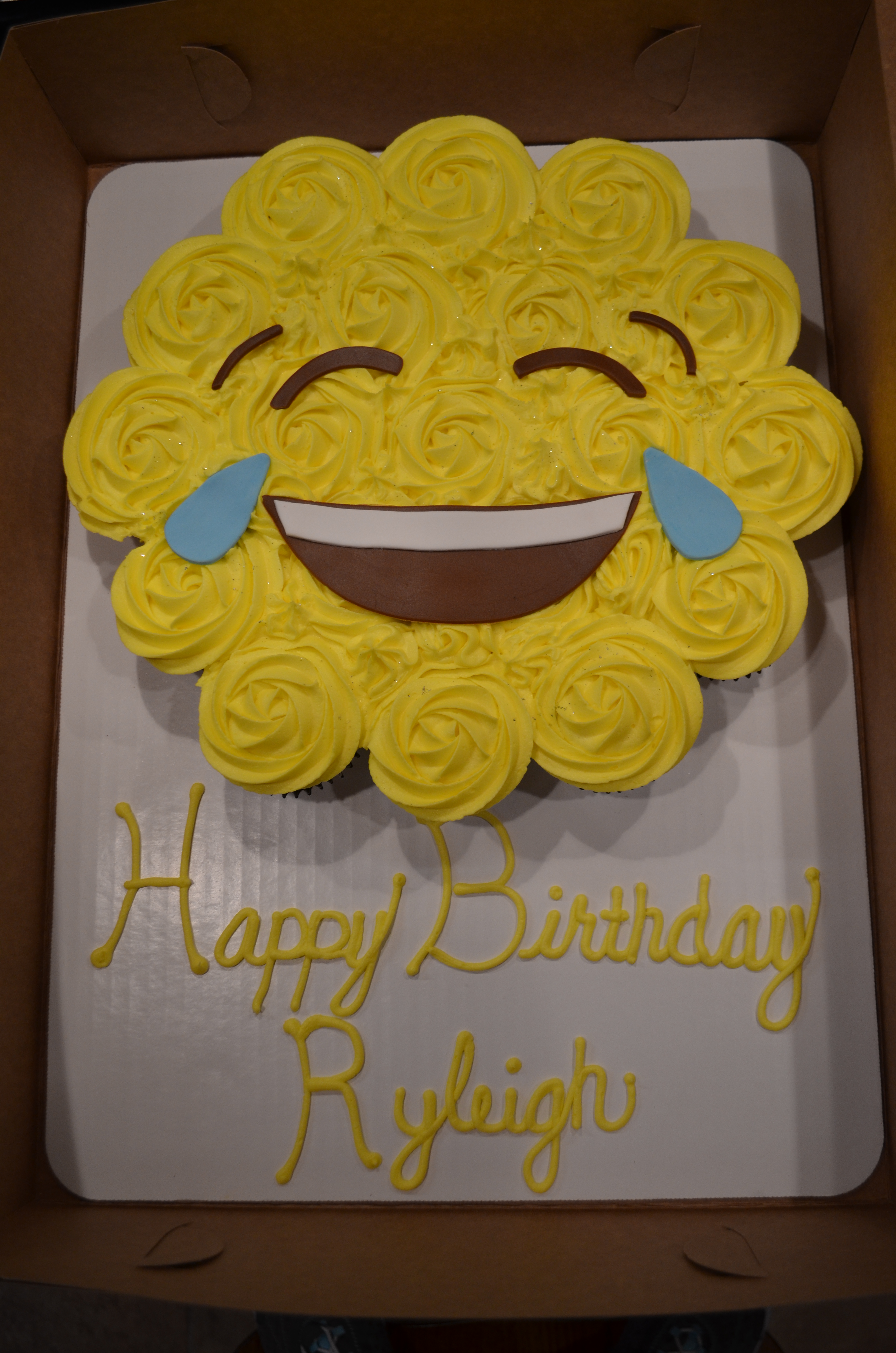 Laughing Emoji CC Cake