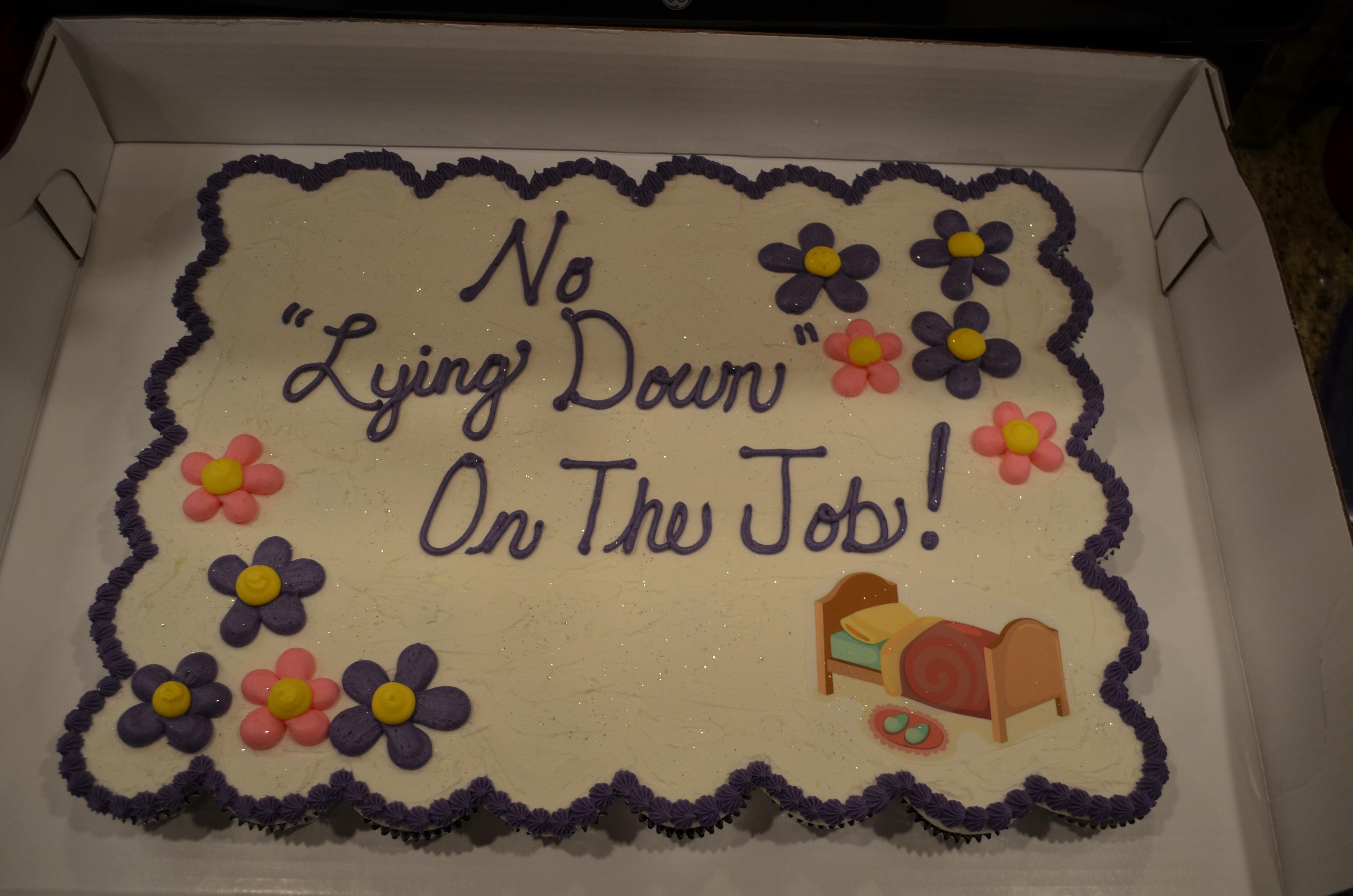 Sheet Cake CC Cake