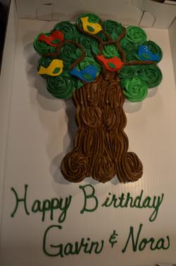Tree Birds CC Cake
