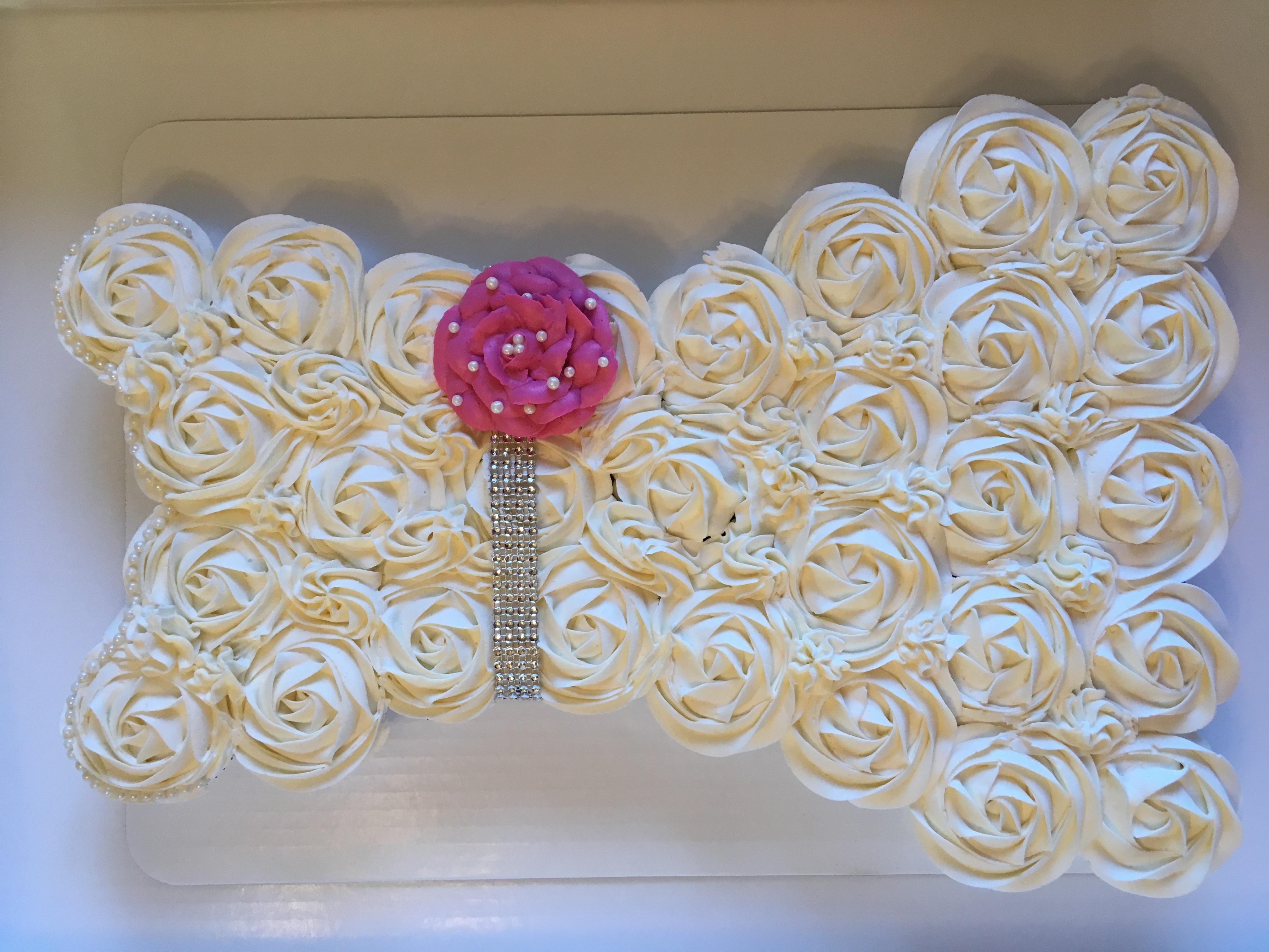 Wedding Dress (pink rose)
